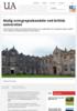 Mulig overgrepsskandale ved britisk universitet