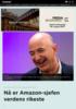 Nå er Amazon-sjefen verdens rikeste