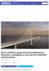 Nå er arbeidet i gang med Storstrømsbroen i Danmark - prislappen er på cirka fire millarder danske kroner