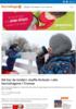 Nå har de innført «kaffe-forbud» i alle barnehagene i Tromsø