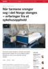 Når tarmene vrenger seg i det Norge stenges - erfaringer fra et sykehusopphold