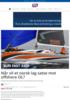 Når vil et norsk lag satse mot offshore OL?