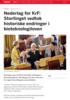 Nederlag for KrF: Stortinget vedtok historiske endringer i bioteknologiloven