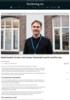 Nederlandsk forsker skal hjelpe Vestlandet med å omstille seg