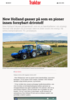 New Holland gasser på som en pioner innen fornybart drivstoff