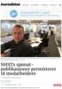 NHSTs sjømat-publikasjoner permitterer 18 medarbeidere