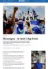 Nicaragua - et land i dyp krise.