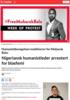 Nigeriansk humanistleder arrestert for blasfemi