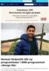 Noman Mubashir blir ny programleder i NRK-programmet «Norge Nå»