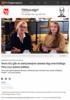 Nora (61) går av med pensjon samme dag som kollega Ylva (24) mister jobben