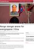 Norge stenger ørene for overgrepene i Kina