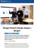 Norges fintech-klynge skapes i Bergen