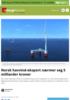 Norsk havvind-eksport nærmer seg 5 milliarder kroner