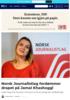 Norsk Journalistlag fordømmer drapet på Jamal Khashoggi