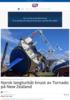 Norsk langturbåt knust av Tornado på New Zealand