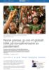 Norsk presse, gi oss et globalt blikk på konsekvensene av pandemien!
