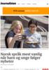Norsk språk mest vanlig når barn og unge følger nyheter