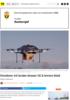 Norske forskere vil bruke droner til å levere blod