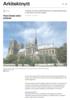 Notre Dame søker arkitekt