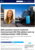 NRK ansetter internt: Kathrine Hammerstad (35) fikk jobben som ny redaksjonsleder i NRK Direkte