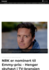 NRK er nominert til Emmy-pris: - Henger skyhøyt i TV-bransjen