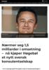 Nærmer seg 1,5 milliarder i omsetning - nå kjøper Høgebøl et nytt svensk konsulentselskap