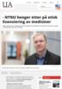 - NTNU henger etter på etisk lisensiering av medisiner