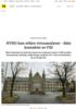 NTNU kan utføre virusanalyser - ikke kontaktet av FHI