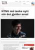 NTNU må tenke nytt når det gjelder areal