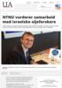 NTNU vurderer samarbeid med israelske oljeforskere