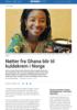 Nøtter fra Ghana blir til kuldekrem i Norge