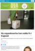 Ny organdonorlov kan redde liv i England