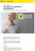 Ny quiz om seniorer i arbeidslivet