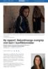 Ny rapport: Rekordmange overgrep mot barn i konfliktområder