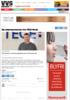 Ny salgsrepresentant hos TECE Norge