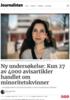 Ny undersøkelse: Kun 27 av 4000 avisartikler handlet om minoritetskvinner