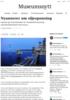 Nyanserer om oljesponsing