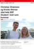 Nyheter Christian Strømnes og Kristin Werner skal lede NSF Student i året som kommer