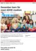 Nyheter Desember-barn får mest ADHD-medisin