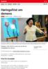 Nyheter Høringsfrist om demens
