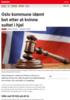 Nyheter Oslo kommune idømt bot etter at kvinne sultet i hjel