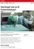 Nyheter Stortinget sier ja til fosterreduksjon