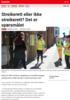 Nyheter Streikerett eller ikke streikerett? Det er spørsmålet