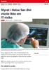 Nyheter Styret i Helse Sør-Øst visste ikke om IT-risiko