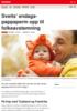 Nyheter Sveits' endags-pappaperm opp til folkeavstemning