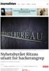 Nyhetsbyrået Ritzau utsatt for hackerangrep