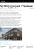 Nytt bygg åpnet i Tromsø