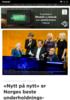 Nytt på nytt er Norges beste underholdnings-program gjennom tidene