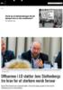 Offiserene i LO støtter Jens Stoltenbergs tre krav for et sterkere norsk forsvar