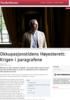 Okkupasjonstidens Høyesterett: Krigen i paragrafene